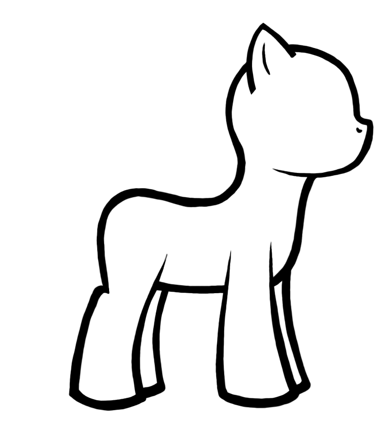 My Little Pony Coloring Pages Com Coloring Pages Little