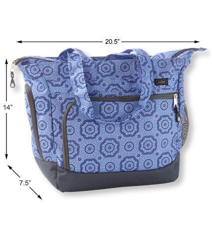 Cool Carryall Tote Bag Print Free Shipping At L L Bean Inzonedesignstudio Interior Chair Design Inzonedesignstudiocom