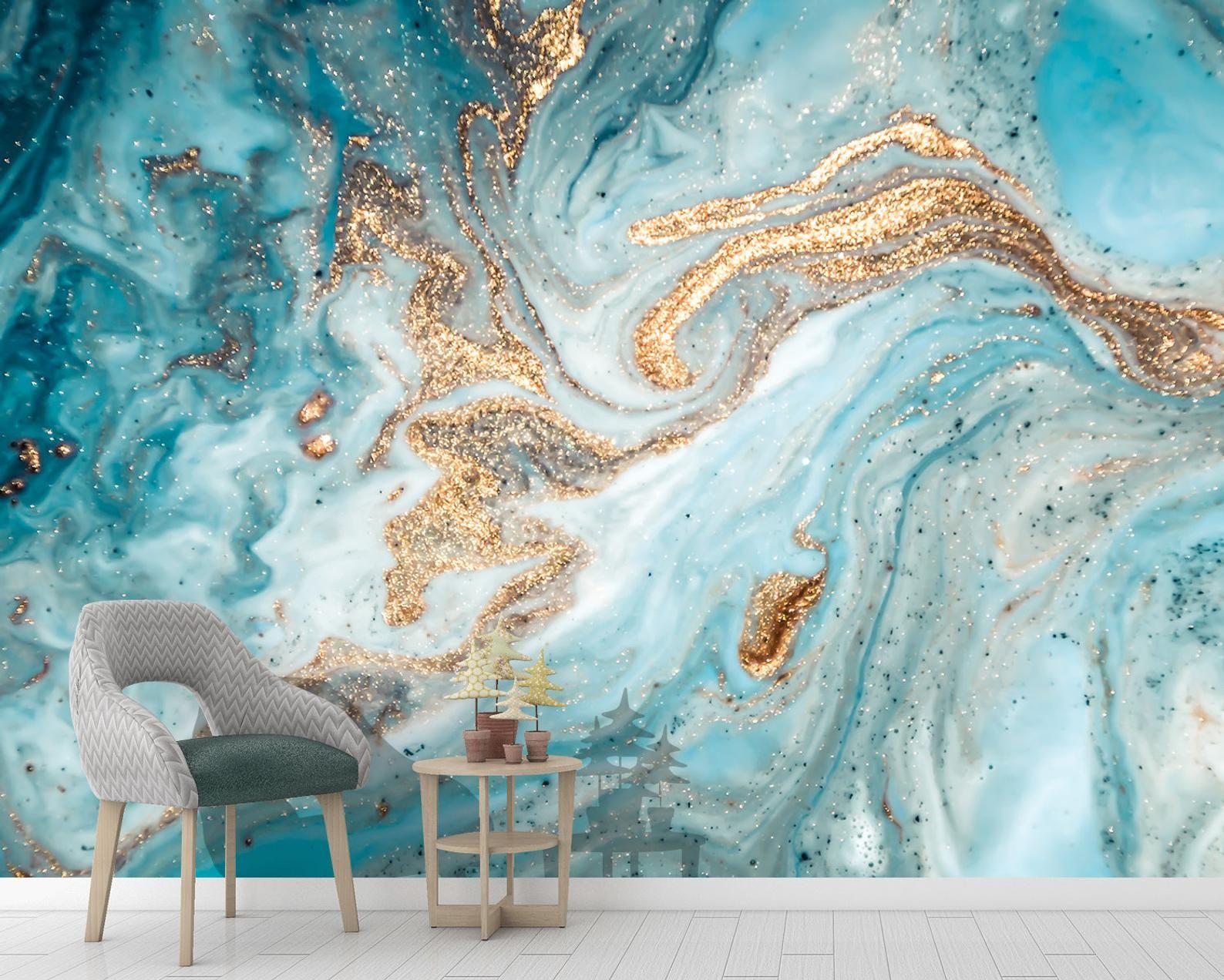 Does Wallpaper Work On Textured Walls Bathroom Accent Wall Wallpaper Accent Wall Bathroom Small Bathroom Wallpaper