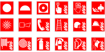 Health Emergency Symbol Google Search Fire Safety For Kids Fire Safety Signage Signs