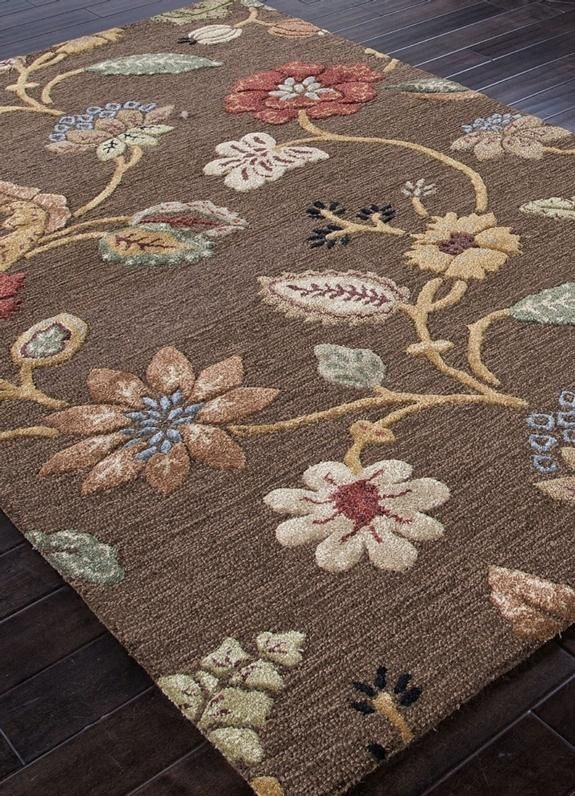 RugStudio presents the Hand Tufted Abr0075 Cocoa Brown by Addison And Banks.RugStudio # 82053Brand: Addison And BanksCollection: Hand TuftedPromotion: SALEStyle: Transitional, Floral Weave: Hooked Rug Material: 70% Wool / 30% Artificial SilkOrigin:...