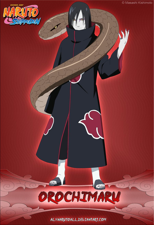 Картинки орочимару акацуки