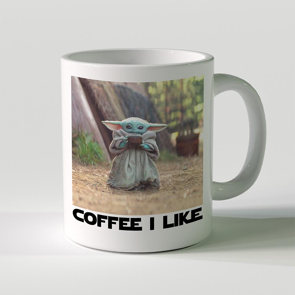 The Mandalorian Baby Yoda Coffee Mug 11 oz The Wholesale