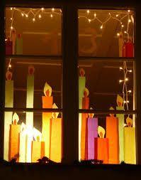 Adventsfenster #fensterdekoweihnachten
