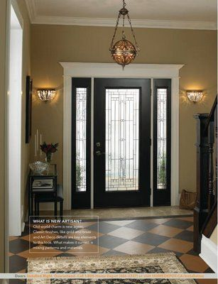 Black On Inside Of Doorgoing To Do This In 2 Weeks Home Decor