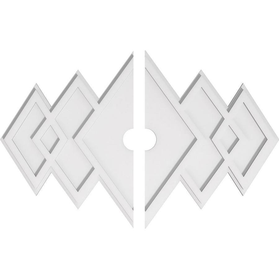 Ekena Millwork Zoe 36 X 11 25 Pvc Ceiling Medallion Cmp36x24ze2