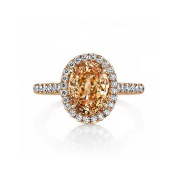 5 Engagement Rings With Colorful Stones That Will Make Your Jaw Hit the Floor