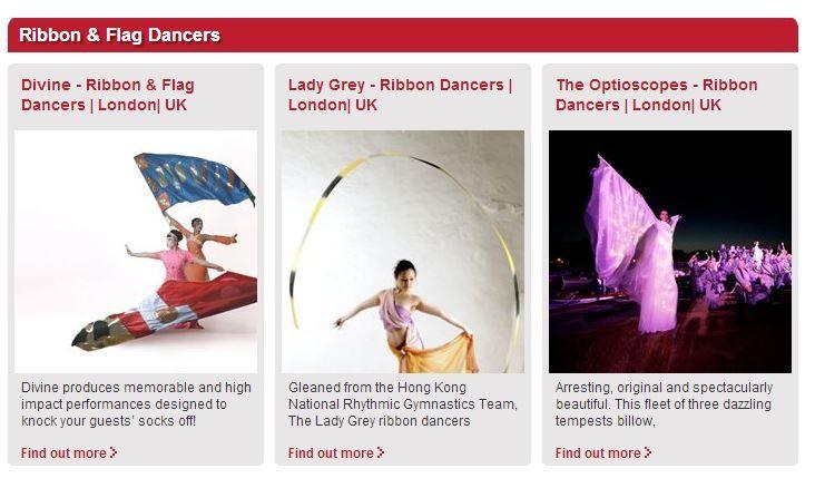 Ribbon & Flag Dancers