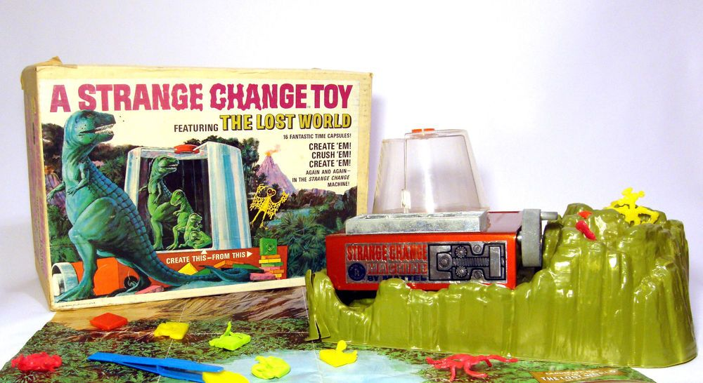 Strange Change Toy : Mattel strange change machine the lost world only