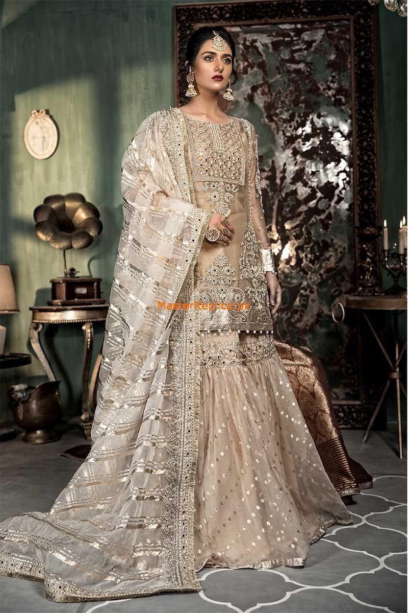 Maria B Bridal Collection Master Replica 20   Desi wedding ...