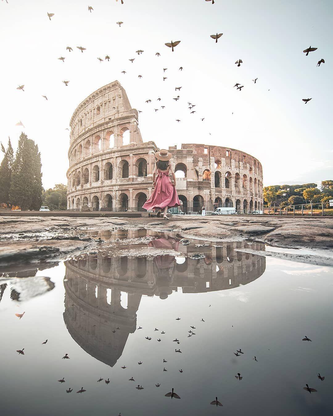 Ort Folgen Folgen Vorgestellter Kunstler Ausgewahlt Von Besuchen Sie Unsere Familie Rom Urlaub Reisen Rom