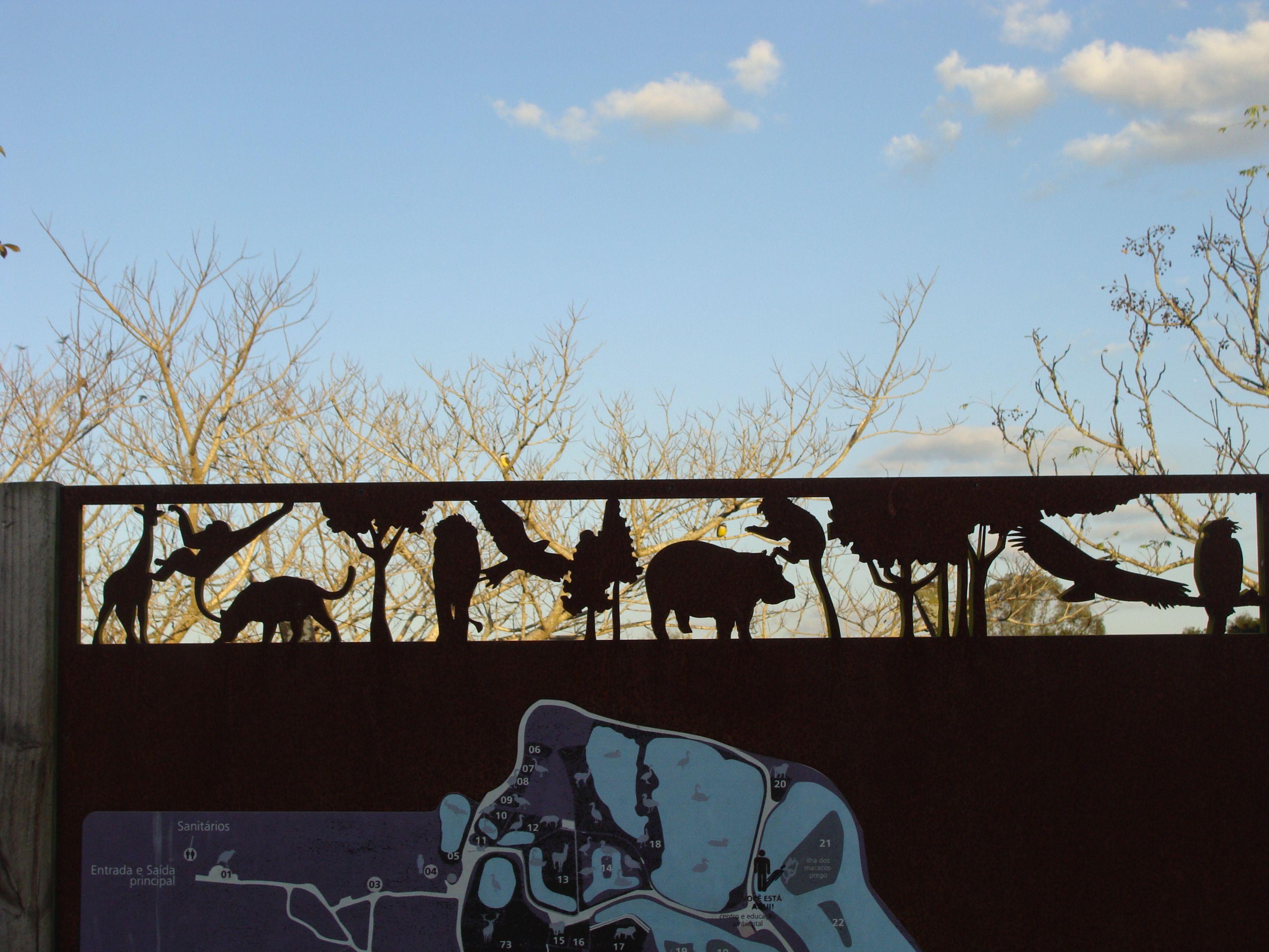 Jardim Zoológico.