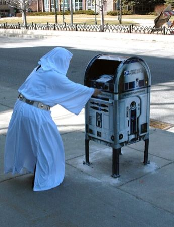 """""""...you're my only hope.""""  #starwars #r2d2"""