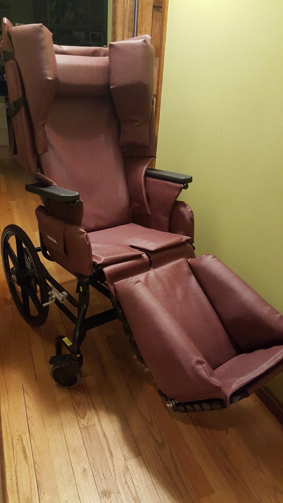 Broda Chair Gym With Twister Seat Specialized Wheelchair Elite 785 Tilt Recliner W Vehicle Pkg