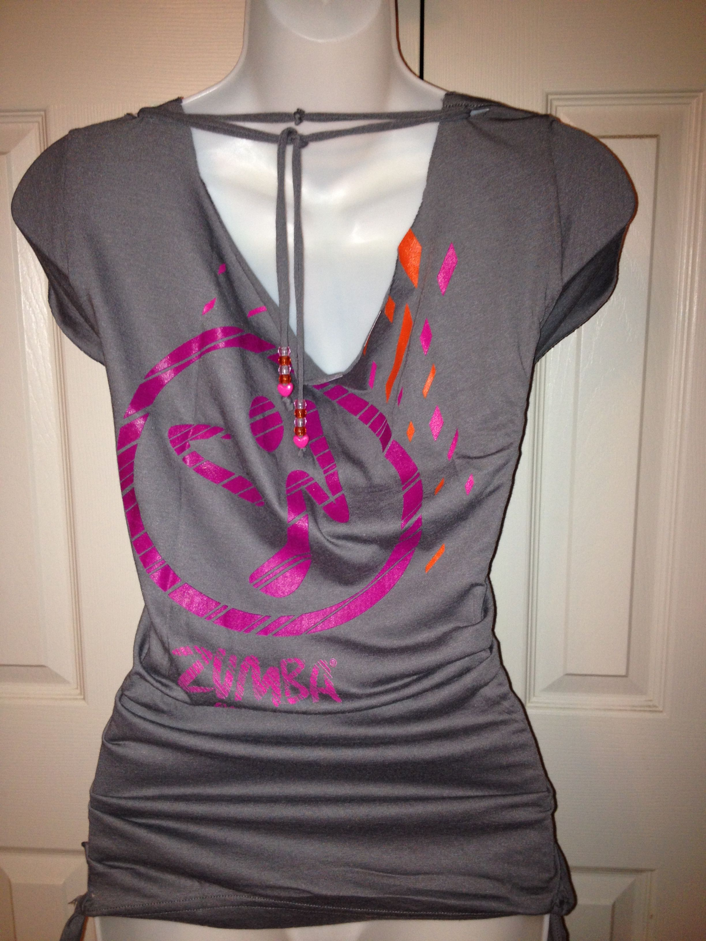 links to a board with tons of diy t-shirt ideas. because those one-size-fits-all zumba t-shirts are huge!