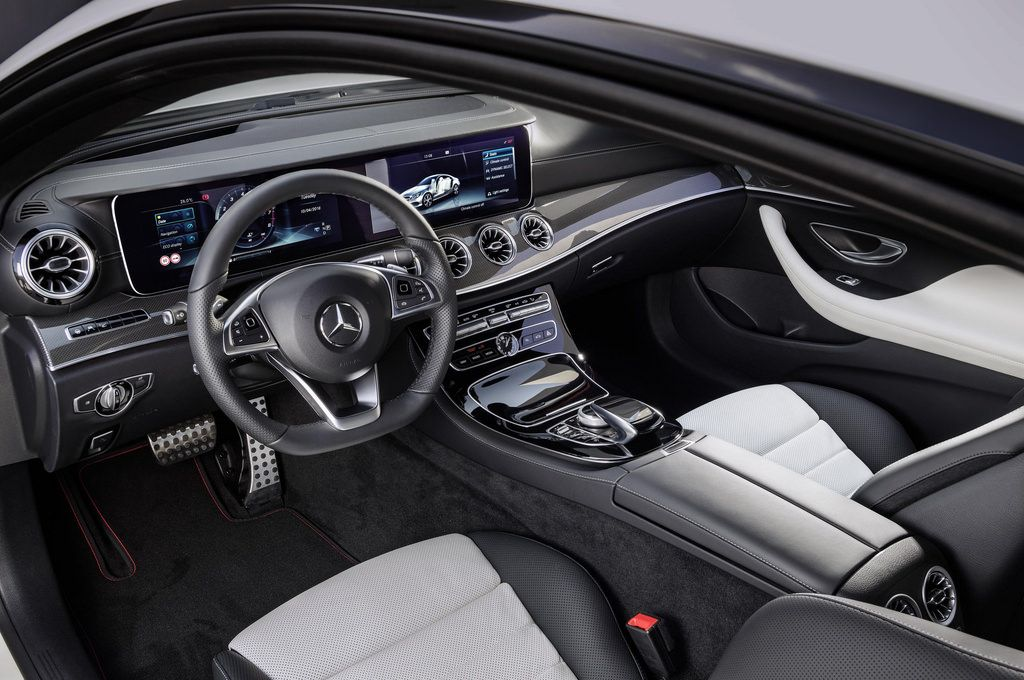 This Is The All New 2018 E Class Coupe With Images Benz E