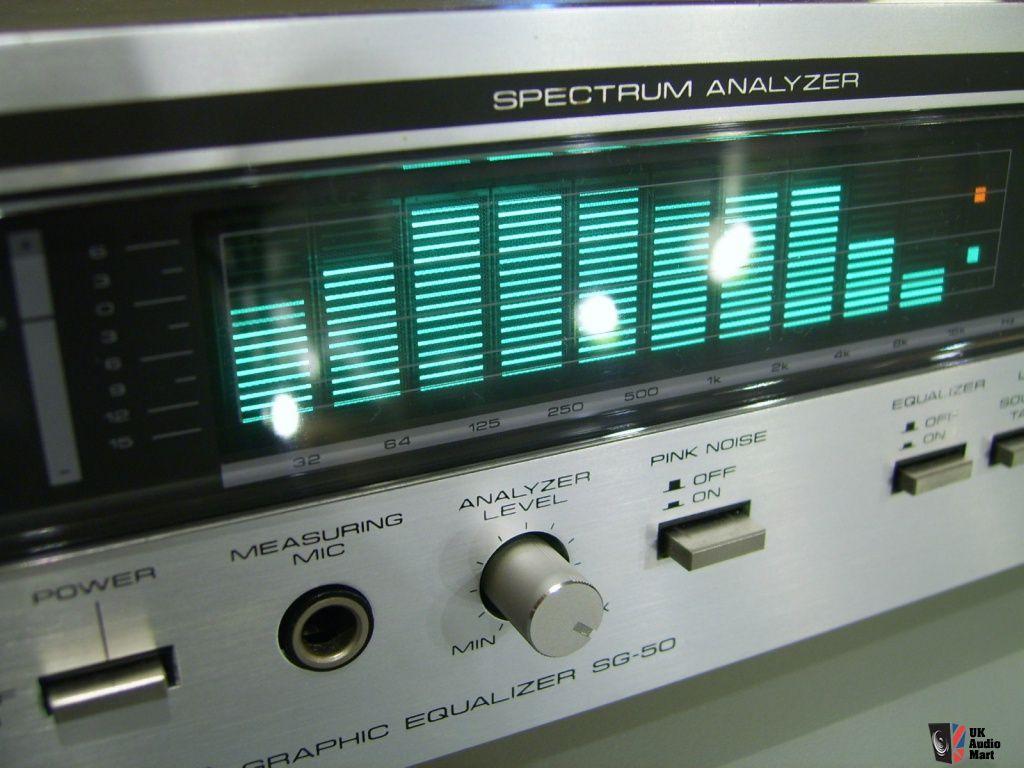 Pioneer SPEC vintage SG-50 equalizer with spectrum analyzer in ...