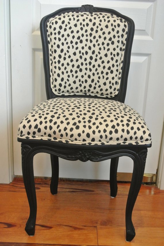 Spotted French Chair In 2019 Products French Chairs