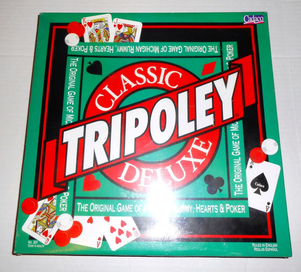 Vintage TRIPOLEY 1995 Classic Deluxe Game Brand New SEALED