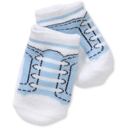f63418070d7d Newborn Baby Girl Sneaker Socks Set - 4 Pack