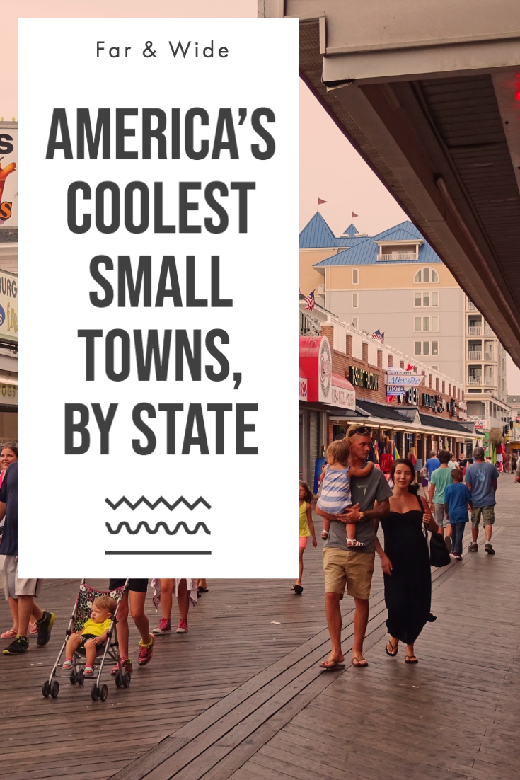 America's Coolest Small Towns by State