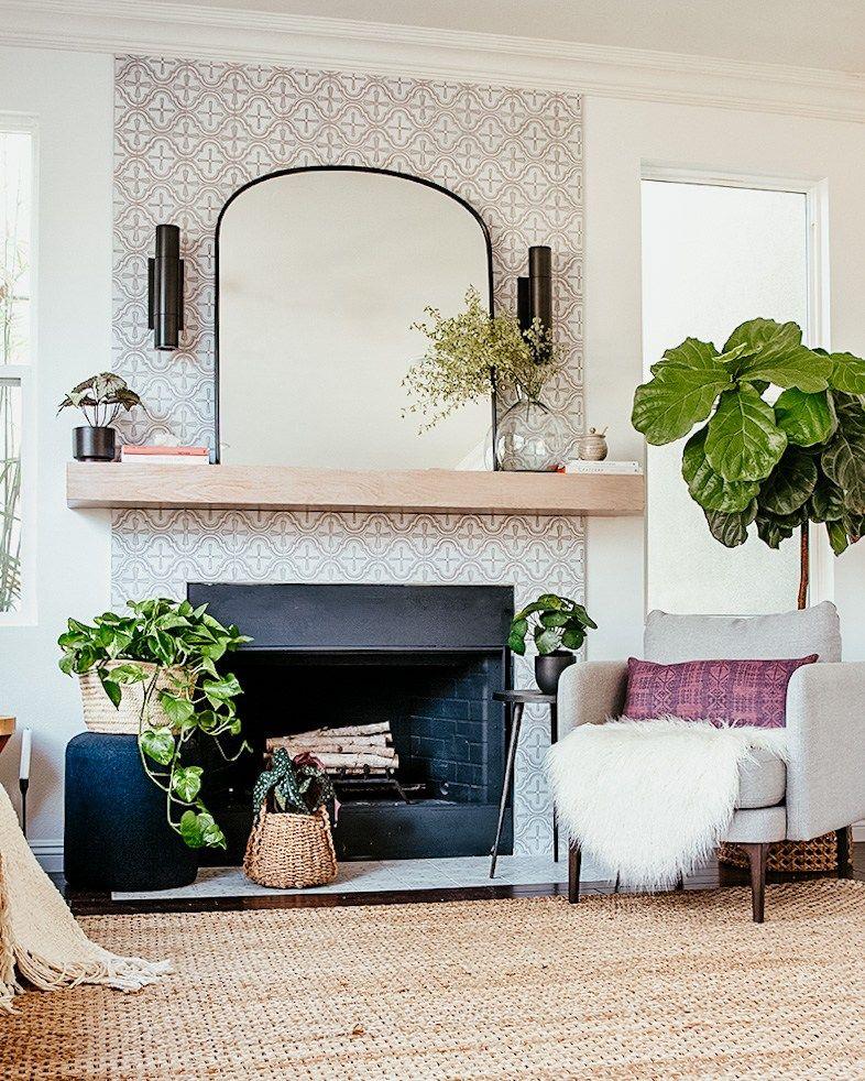 DIY Fireplace   Family room design, Casual living rooms ... on Fireplace Casual Living id=26471