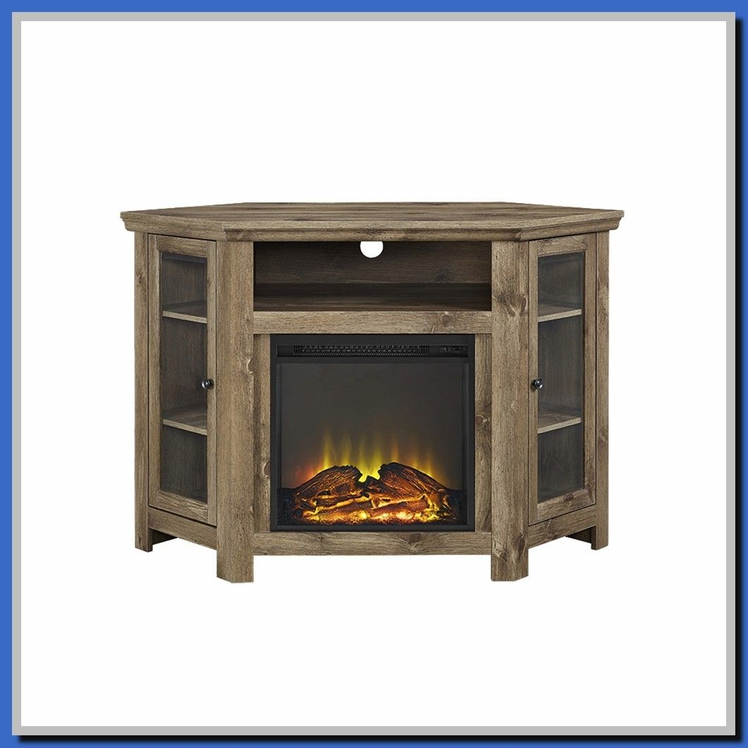 40 Reference Of Small Tv Stand Electric Fireplace In 2020 Corner