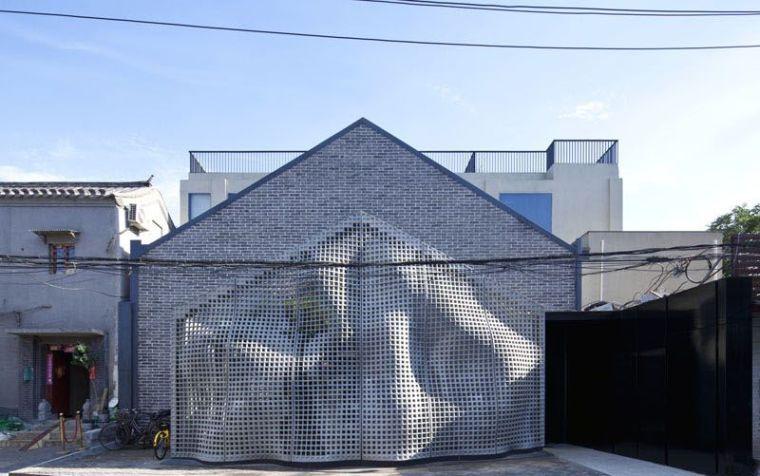 Cette façade de maison originale cache une image étonnante