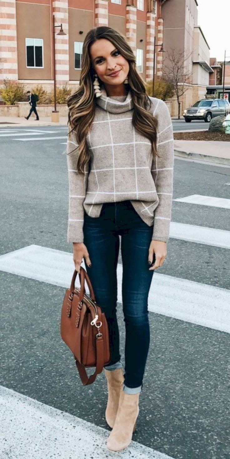 50 Popular Fall Outfits to Upgrade your Look #Outfit #Women