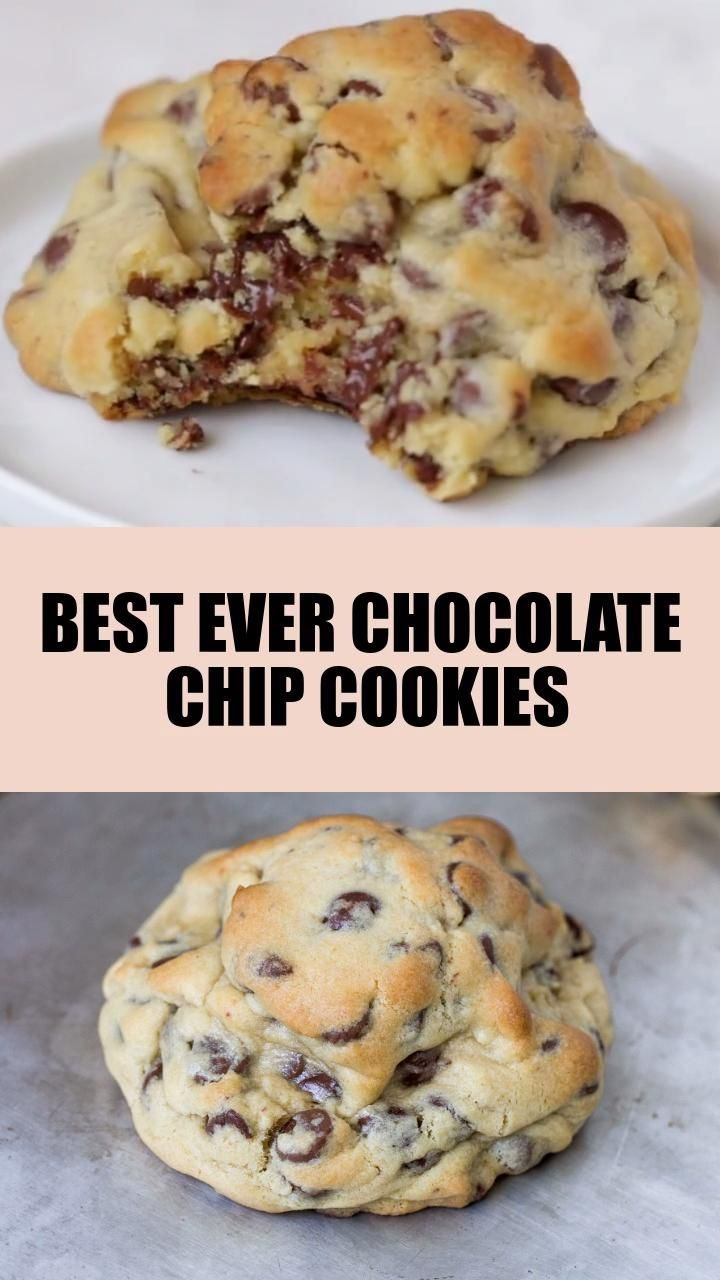 Best Ever Chocolate Chip Cookies (video)