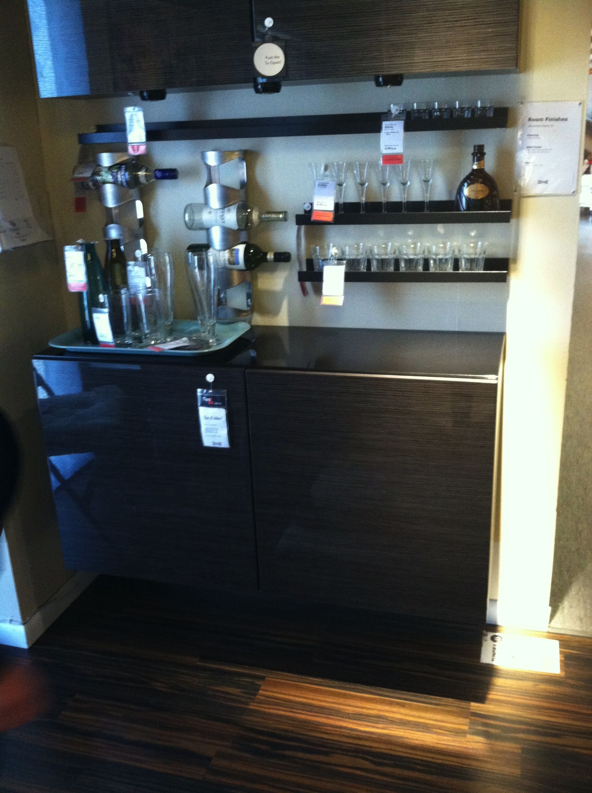 Amazing Mini Bar Idea From Ikea