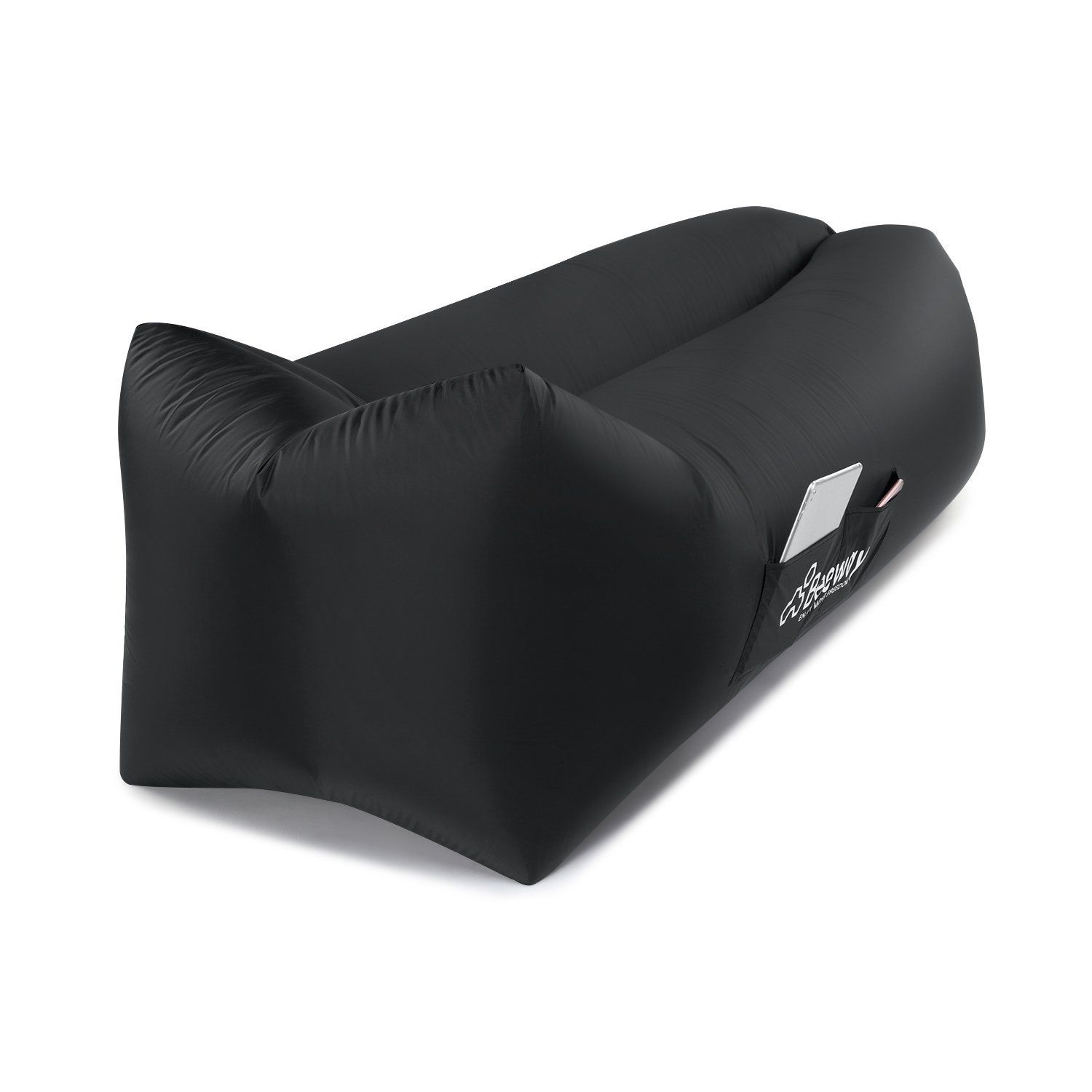 Beeway Inflatable Lounger 2Nd Generation  Headrest Comfort Design, One