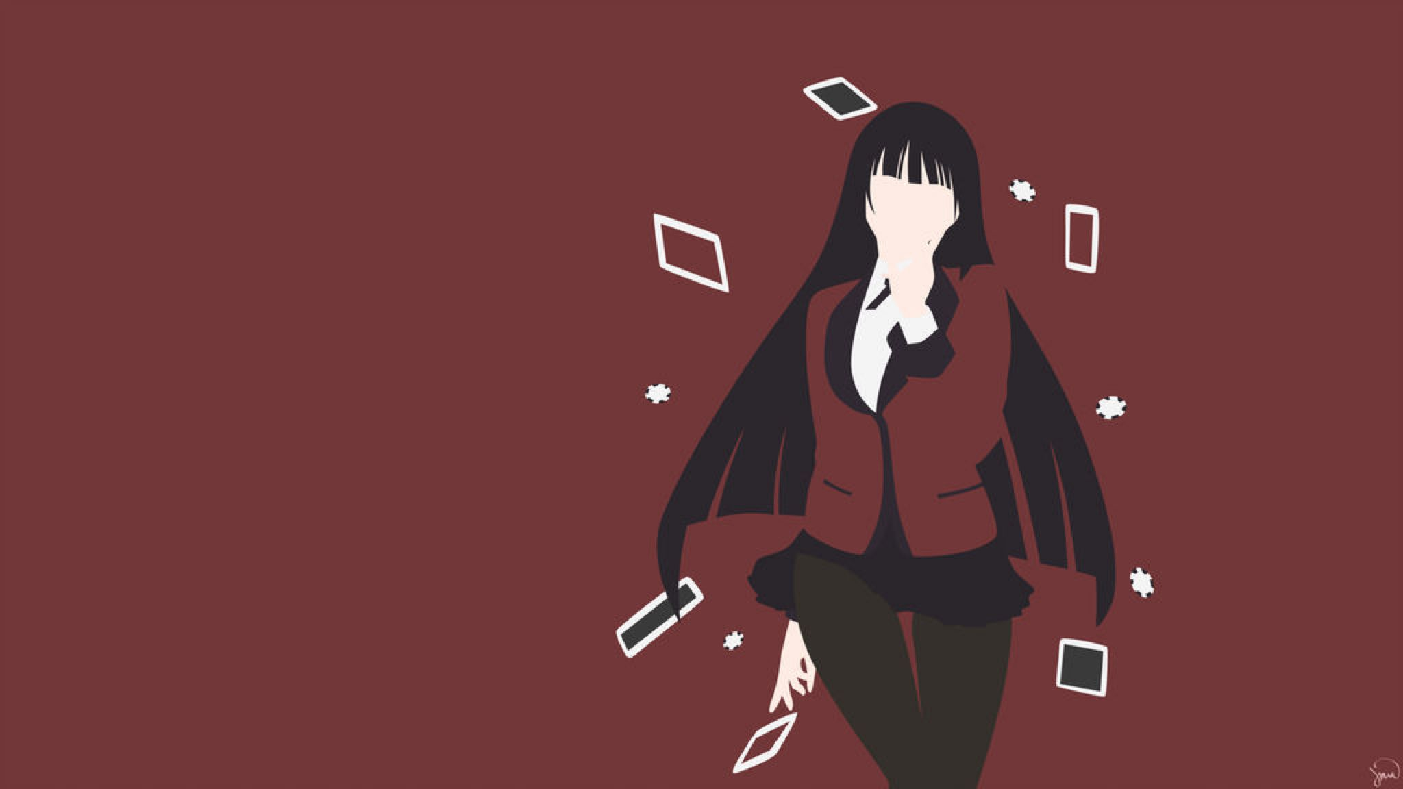 Yumeko Jabami Kakegurui By Greenmapple17 On Deviantart Wallpaper Pc Anime Anime Wallpaper Wallpaper Pc
