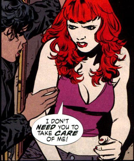 batwoman kate kane forredheads fantasy comics