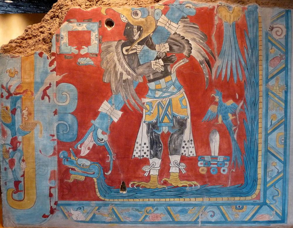 El Hombre Pajaro Teotihuacan Wikipedia La Enciclopedia Libre Arte Maya Teotihuacan Culturas Antiguas