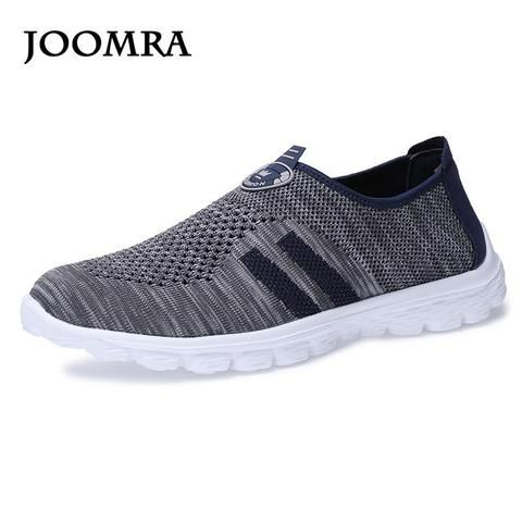 1395b8321608 Joomra 2018 Summer Men Sneakers Mesh Breathable Sport Light Running Shoes  For Male Trainers Walking Outdoor