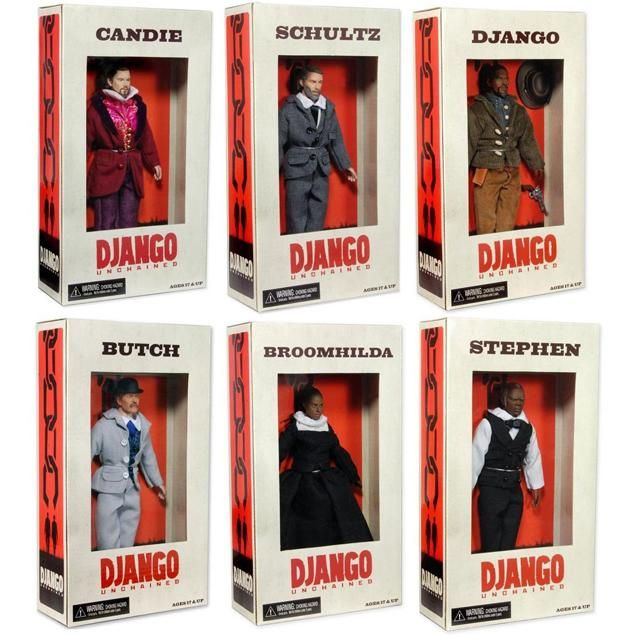 """NECCA """"Django Unchained"""" Action Figures"""
