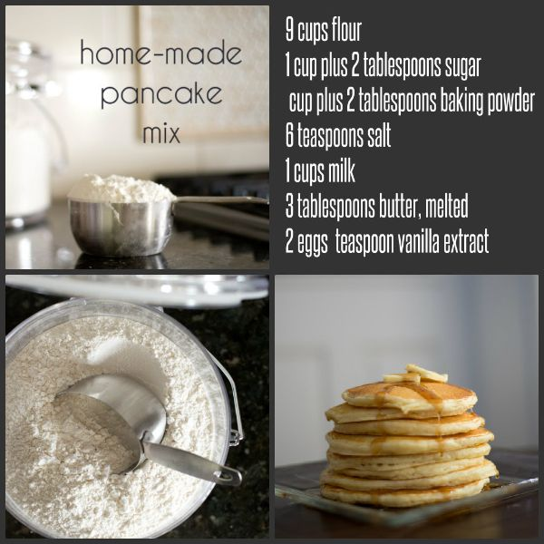Homemade pancake mix in bulk diy pinterest pancakes homemade a popular breakfast item that many americans love pancake there are countless varieties that you can make from one single pancake batter recipe ccuart Gallery