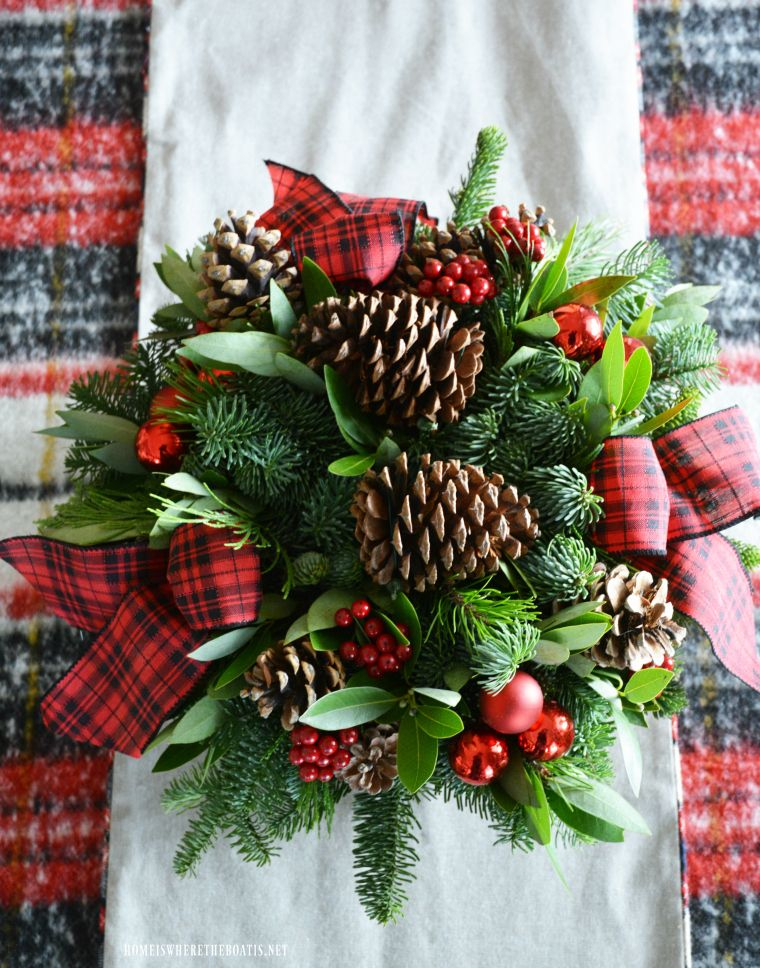 Oh Deer Tartan Christmas Table For Two By The Tree Tartan