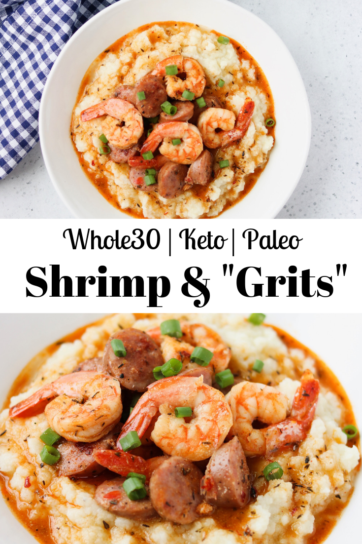 "Whole30 Shrimp & ""Grits"" images"