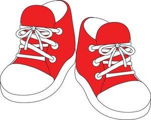 Sneaker Clip Art Tennis Shoes Clipart 3 Shoes Clipart Baby Clip Art Memorization Games