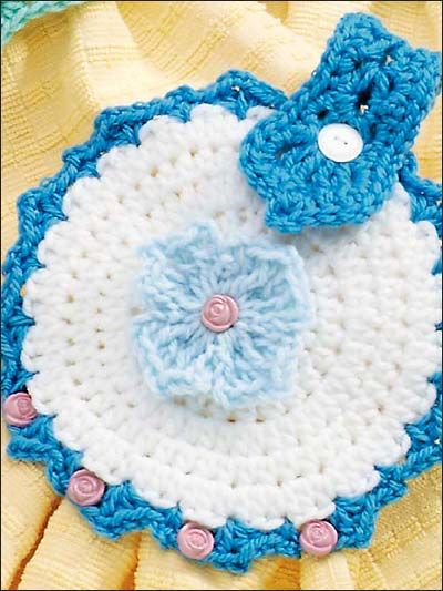 crocheted towel topper-free pattern download | Crochet | Pinterest ...