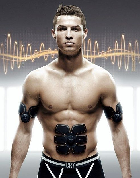 Get Cristiano Ronaldos Six Pack Abs With Sixpad