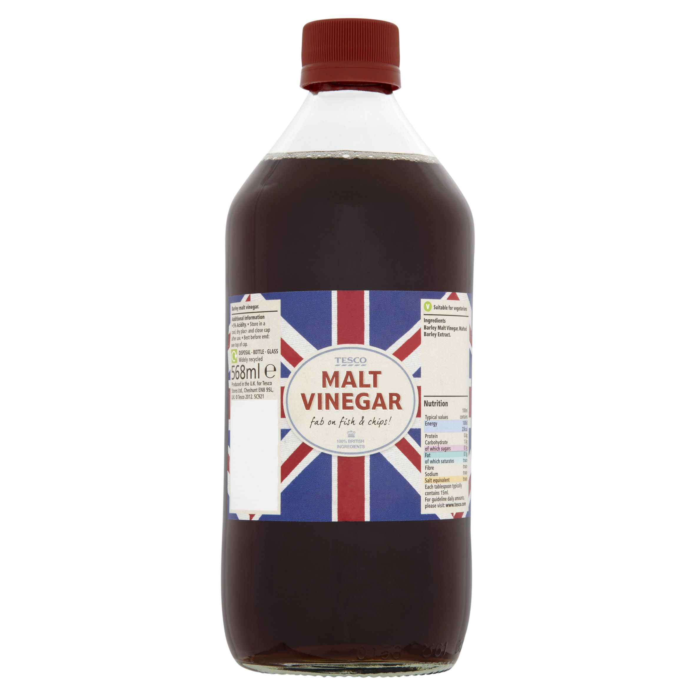 Tesco Malt Vinegar Fab On Fish Chips Online