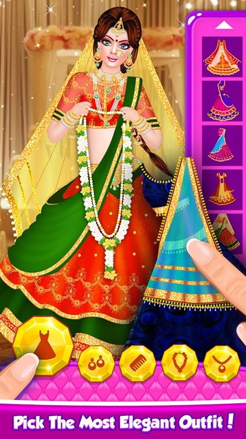 Indian Doll Bridal Fashion Salon 2 Free Android Ios Game Wedding Salon Bridal Dress Design Indian Dolls