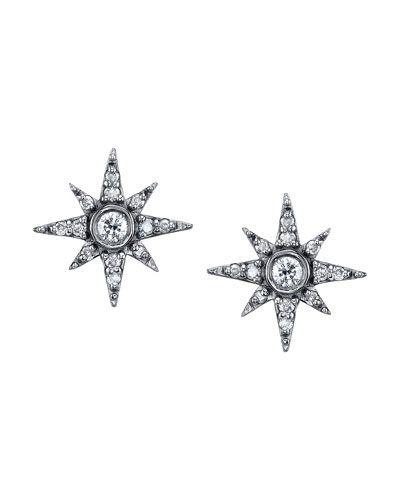 5ab2acbc7 Pave Diamond North Star Mini Stud Earrings   Products   Starburst ...