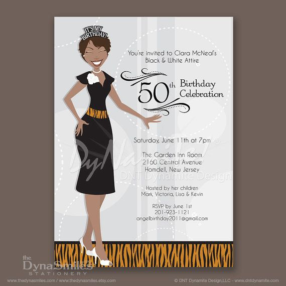 african american birthday party Google Search – African American Birthday Invitations