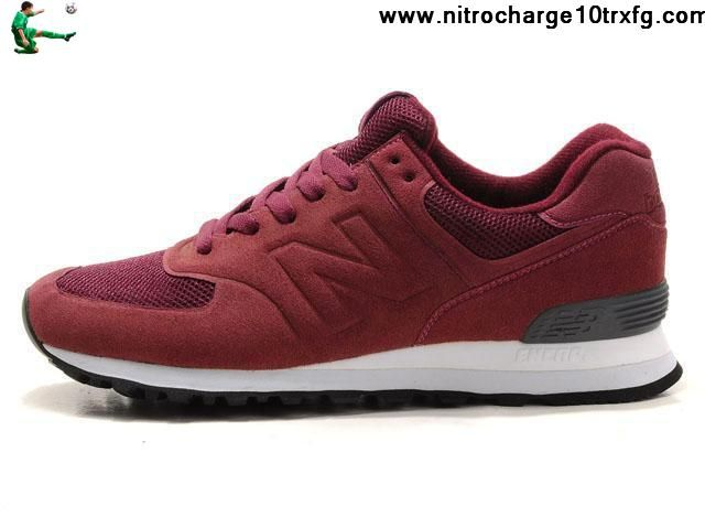 Low Price New Balance NB MS574ZF Sonic wine Red Black For Men shoes Fashion  Shoes Shop