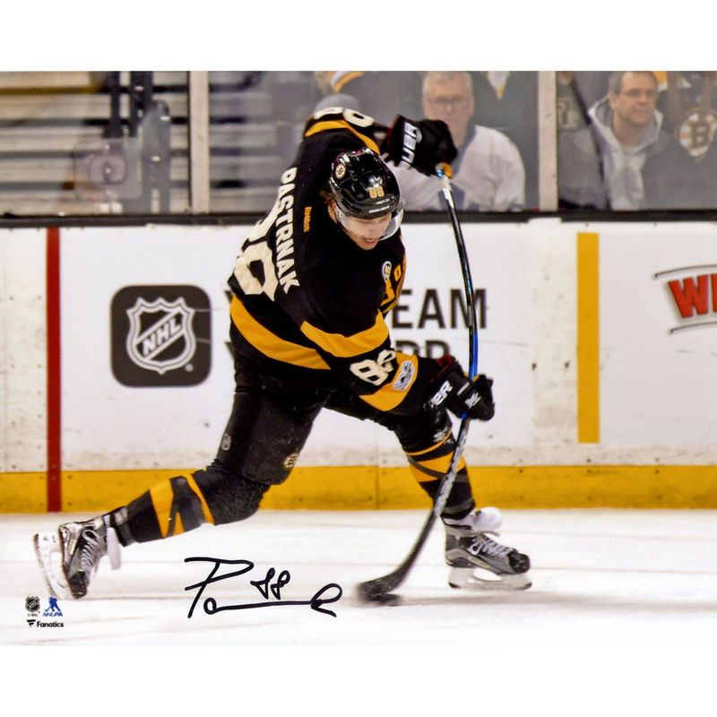 innovative design c9a45 315aa David Pastrnak Boston Bruins Fanatics Authentic Autographed ...