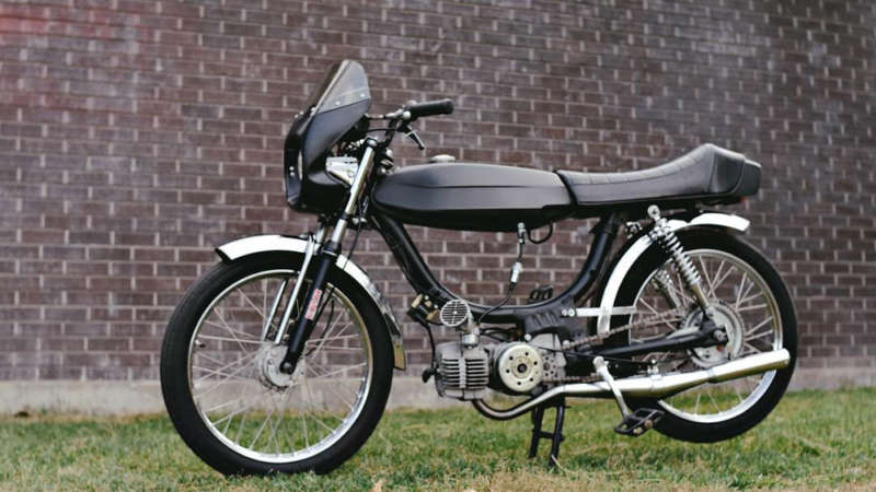 1979 Puch Magnum Pretty Bombers Moped Of The Day Moped Puch Puch Moped